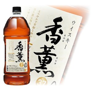 洋酒 国産ウイスキー whisky 香薫 37度 2700ml(2.7L) 国産ウイスキー