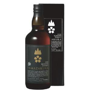 ブレンデッドウイスキー山桜 黒ラベル 40度 700ml 笹の川酒造