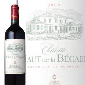 赤ワイン フルボディ シャトー オー ド ラ ベカード 2009 750ml A.O.C.ポイヤック wine|bigbossshibazaki