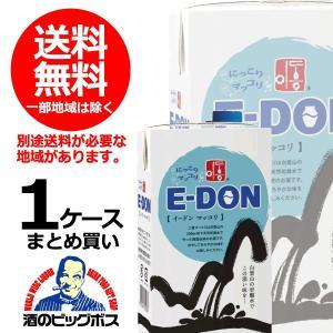 二東 マッコリ 送料無料 E-DON イードン 1000ml 紙パック 1L×16本(016)1本あたり455円|bigbossshibazaki