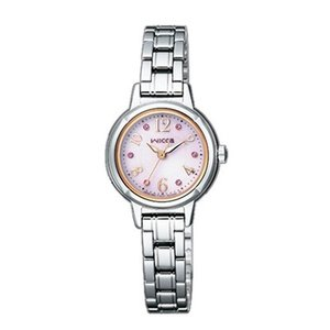 サイズ調整無料 CITIZEN wicca シチズン ウィッカ ソーラーテック レディース腕時計 KH9-914-93|bigboys-c