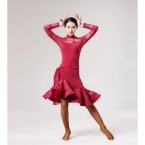 社交ダンス衣装 ラテンダンス衣装 ダンスドレス ラテンドレス チャチャ タンゴ ラテンダンス 衣装 パーティー イベント ラテンドレス ダンス衣装|bigchancenet