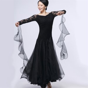 社交ダンス衣装 社交ダンスドレス ダンスウェア モダンドレス ダンス 衣装 ガールズ  社交ダンス競技用のドレス スタンダードドレス|bigchancenet