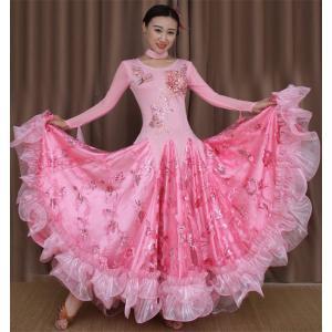 社交ダンス衣装 社交ダンス ドレス モダン衣装 ダンス衣装 ワンピース タンゴ 衣装 ダンスウェア レディース 社交ダンス 練習着|bigchancenet