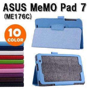 ASUS ME176c 3点セット【保護フィルム&タッチペン】 タブレット ケース  エイスース/アスス MeMO Pad 7  メモパッドスタンドカバー ゆうパケット送料無料|bigforest