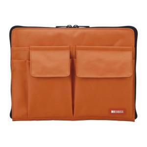 リヒトラブ バッグインバッグA5 A7553-4 橙