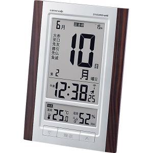 カルネヴァーレ 日めくり電波時計ロゼッタ W-607 BR