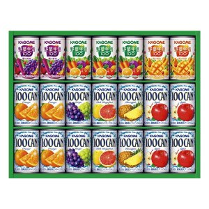 カゴメ フルーツ+野菜飲料ギフト KSR-25N 出荷可能時期:〜8月31日まで (2019 お中元 限定)|bighand
