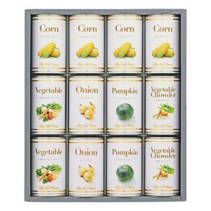 ホテルニューオータニ スープ缶詰セット AOR-50 出荷可能時期:〜8月31日まで (2019 お中元 限定)|bighand