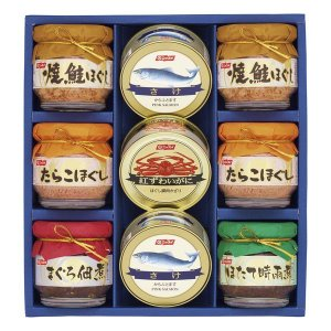 ニッスイ かに缶詰・びん詰 BS-50 出荷可能時期:〜8月31日まで (2019 お中元 限定)|bighand