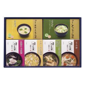 ろくさん亭 道場六三郎スープ・雑炊ギフト LZ-16E 出荷可能時期:〜8月31日まで (2019 お中元 限定)|bighand