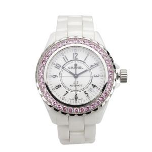 シャネル CHANEL オートマチック腕時計 H1182 J...