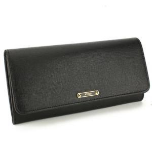フェンディ FENDI  長財布 二つ折り 小銭入れ付 8M0251-00F09-F0KUR ブラック系