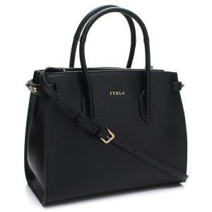 フルラのトートバッグです    素材:レザー  カラー:O60 ONYX ブラック   サイズ:W2...