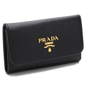 プラダ PRADA 6連キーケース 1PG222 QWA F...
