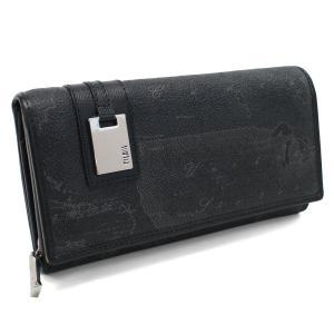 プリマクラッセの長財布2つ折り小銭入れ付きです    素材:PVC/レザー  カラー: BLACK ...