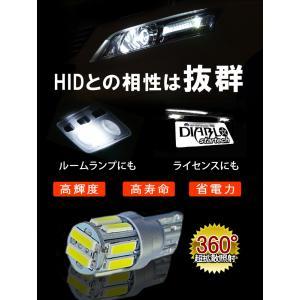 LEDバルブ T10 サムスン10連 ウェッジ球 7020 ポジションランプ/ナンバー灯/ドアランプ ノア ヴォクシー シエンタ アクア ハリアー|bigkmartjapan|05