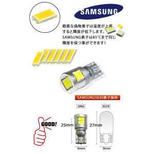 T10 LEDバルブ 8W ウェッジ球 2個セット ヴェルファイア アルファード アクア ノア VOXY セレナ led バルブ t10 カー用品 ledバルブ 送料無料|bigkmartjapan|02
