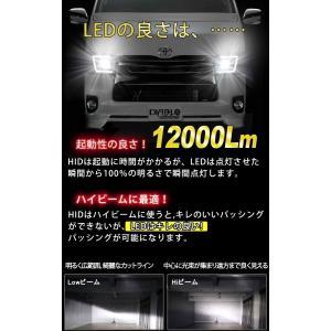 業界最小 ノア ヴォクシー 80系(H26/1〜H29/6) LEDフォグライト H16 フォグランプ PHILIPS LEDバルブ 12000ルーメン 車検対応 1年保証 2個セット|bigkmartjapan|09
