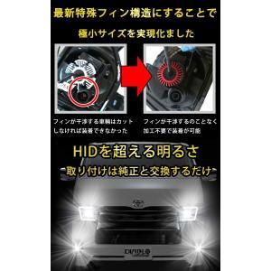 ノア ヴォクシー 80系 H26.01〜H29.06 フォグランプ H16 PHILIPS 車検対応 12000ルーメン LEDフォグ LEDバルブ 送料無料 車検対応|bigkmartjapan|09
