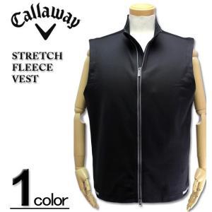 大きいサイズ メンズ CALLAWAY (キャロウェイ) 裏フリース ベスト/STRETCH FLEECE VEST XXL XXXL|biglibero