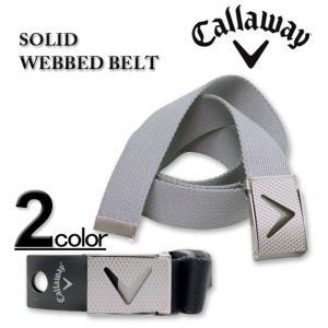 大きいサイズ メンズ CALLAWAY(キャロウェイ) ソリッドウェブベルト フリーサイズ/~115cm|biglibero