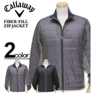 大きいサイズ メンズ Callaway(キャロウェイ) 中綿ジャケット FIBER FILL/XL XXL XXXL|biglibero