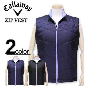 c3f2570366035 大きいサイズ メンズ Callaway(キャロウェイ) ゴルフ 中綿ベスト XL XXL XXXL