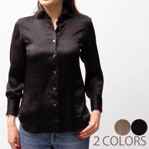 Finamore フィナモレ A2054/LILLI シルクシャツ  正規品ならビリエッタ。送料無料 正規品|biglietta