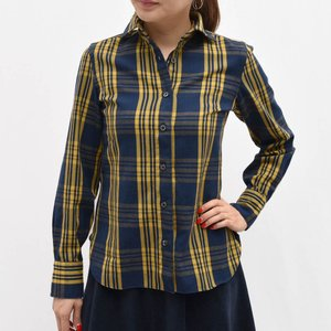 Finamore フィナモレ A9023/LILLI チェックシャツ  正規品ならビリエッタ。送料無料|biglietta