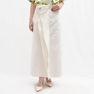 MM6 MAISON MARGIELA エムエム6 メゾン マルジェラ S52MA0089 ホワイトデニム ジップタイトスカート  正規品ならビリエッタ。送料無料 biglietta
