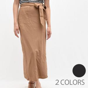 three dots スリードッツ KD3267Y トラベルライン ロングスカート  正規品ならビリエッタ。送料無料|biglietta