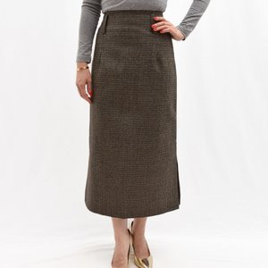 Cellar Door セラードアー <br>MEGAN/IW254 ガンクラブチェック タイトスカート  正規品ならビリエッタ。送料無料|biglietta