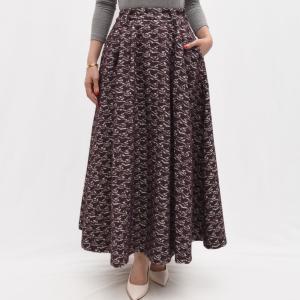 Cellar Door セラードアー TIN TIN/IW145 ジオメトリックパターン ジャガードスカート  正規品ならビリエッタ。送料無料|biglietta