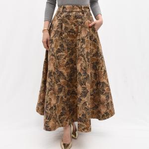 Cellar Door セラードアー TIN TIN/IQ130 リーフモチーフ ジャガードスカート  正規品ならビリエッタ。送料無料|biglietta