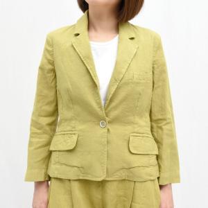 120% lino(120% リノ)NOW8158 リネン テーラードジャケット 正規品ならビリエッタ。送料無料 OUTLET|biglietta