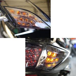 CALIN 【シグナスX/シグナスXFi用】LEDフロントウィンカー前後セット【スモーク】/CL-002S[ATLS/アトラス] カスタム パーツ bigmart