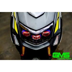 [ATLAS/アトラス]  TA-GMS-HE010AE GMS X 5型 CYGNUS X(シグナスX)トリプル スクエアプロジェクターヘッドライト+天使眼|bigmart