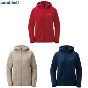 mont-bell レディース クリマプラスニットパーカ bigmart