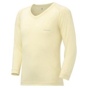 mont-bell : モンベル  スーパーメリノウール M.W.Vネックシャツ Men's  メン...