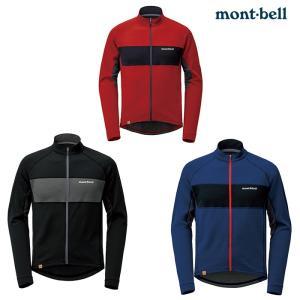 mont-bell : モンベル   メリノウールプラス サイクルジャージ Men's メンズ 冬場...