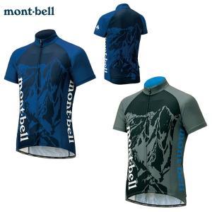 mont-bell : モンベル  WIC.クール サイクルジャージ #1 メンズ レディース 男女...