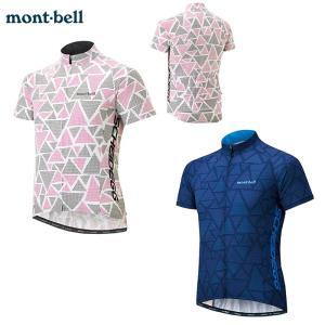 mont-bell : モンベル  WIC.クール サイクルジャージ #2 メンズ レディース 男女...