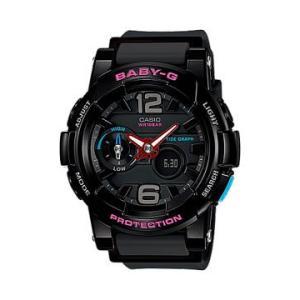 カシオ  腕時計 ベビージー ジーライド BGA-180-1BJF ブラック