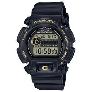 腕時計 CASIO 時計 Gショック G-SHOCK ブラックアンドゴールド DW-9052GBX-1A9JF メンズ