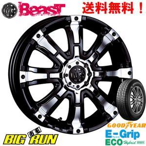 CRIMSON (クリムソン) MG BEAST for K-CAR&グットイヤー EfficentGrip ECO EG01 165/60R15 ※個人宅発送不可|bigrun-ichige-store