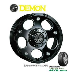 CRIMSON (クリムソン) MG DEMON & ブリヂストン DUELER H/L850 175/80R16 ※個人宅発送不可|bigrun-ichige-store