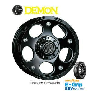 CRIMSON (クリムソン) MG DEMON & グッドイヤー EfficientGrip SUV HP01 175/80R16 ※個人宅発送不可|bigrun-ichige-store