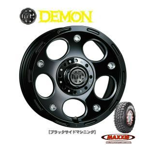 CRIMSON (クリムソン) MG DEMON & MAXXIS Trepador M8060 185/85R16 ※個人宅発送不可|bigrun-ichige-store