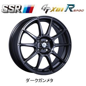 SSR GTX01 R spec (エスエスアール gtx01 アール スペック) S660 [6.0J-15&6.5J-16 4H100] お得な各2本[計4本] 送料無料 ※代金引換不可|bigrun-ichige-store